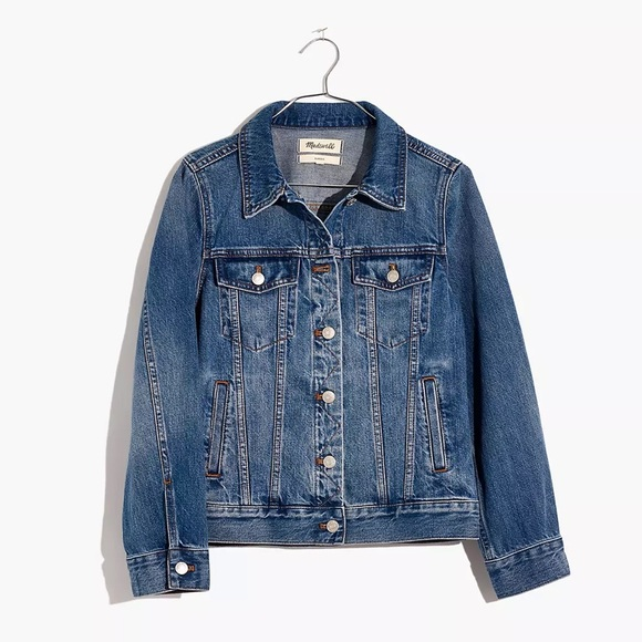 Madewell Jean Jacket in Medford Wash w/ tag. New